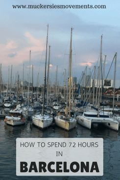In September last year, I travelled to the sunny Spanish city of Barcelona for a long weekend. What would I recommend you see and do if you only had 72 hours in this great city?