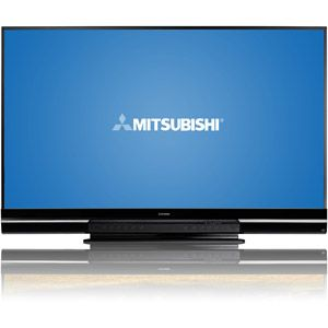 "Mitsubishi 92"" Class 3D DLP 1080p HDTV with StreamTV Internet Media, WD-92742 - Stay home, download a movie and dump your old tube TVs #WalmartGreen"