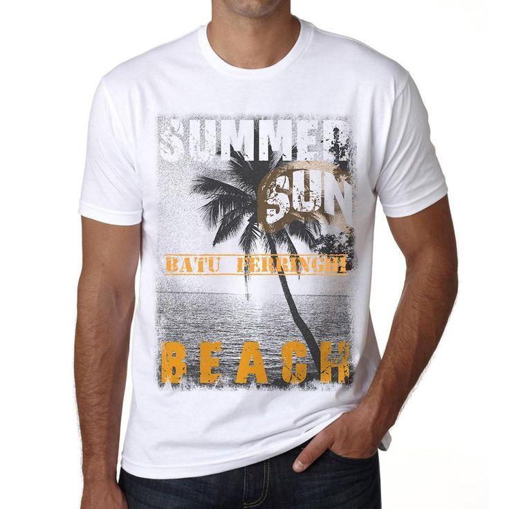 Batu Ferringhi ,Men's Short Sleeve Rounded Neck T-shirt