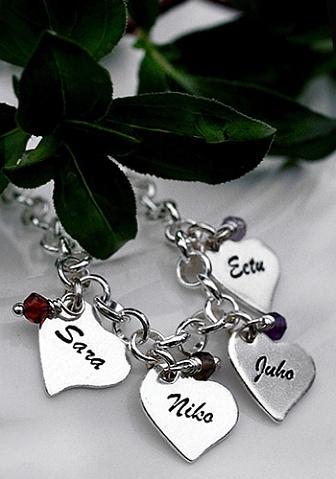 Mom jewellery, äitien koruja. Handmade in Finland.  - Pako korut nimillä Mirka, Miro ja Meri