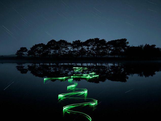 Light Trail Photographs by Joel James Devlin long exposure light