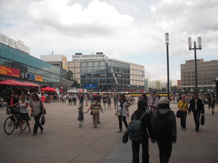 Berlin, Germany.  Alexanderplatz.