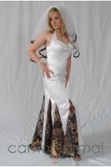 Okay, thank you Pinterest for introducing me to Camo Formal... a website with more camo wedding dresses than ever necessary.  I'm pinning this to beg every woman on the planet, no matter how much you or your groom love to hunt, fish, or idk kill terrorists, please, just don't wear these. Please. I may vomit.