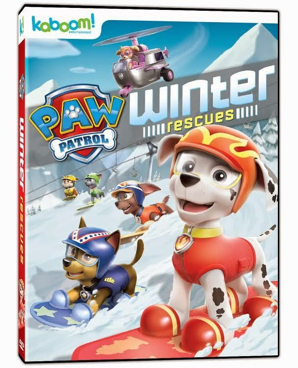 Working Mommy Journal: PAW Patrol:Winter Rescues is Coming to Canada! Review & Giveaway #giftguide