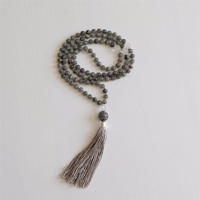 Enlightenment Mala - Labradorite