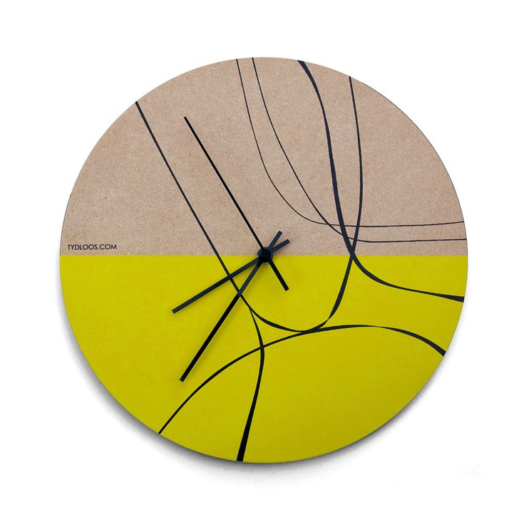 Special Edition Wall clock FREE HAND by TYDLOOS.COM