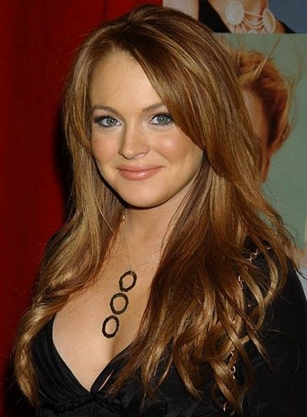 Brown Hair with Red and Blonde Highlights