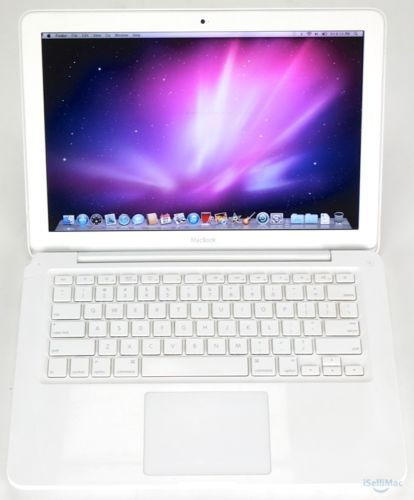 Apple-White-MacBook-Unibody-2009-13-2-26GHz-250GB-HD-2GB-RAM-MC207LL-A-Warranty