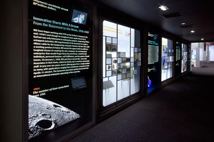 W.L. Gore & Associates History Exhibit by Lynn Paik Design, Newark – Delaware