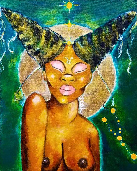 Taurus  Zodiac  Wall Art Prints  Taurus Birthday