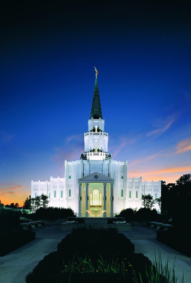 Houston Texas Temple of The Church of Jesus Christ of Latter-day Saints. #LDS #Mormon