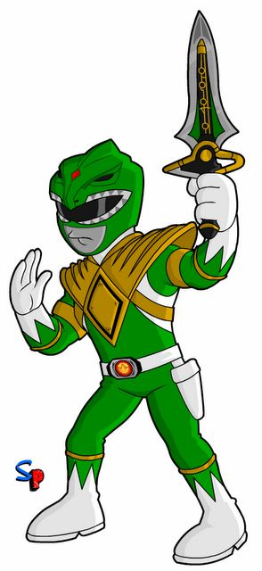 Mighty Morphin Power Rangers; Green Ranger