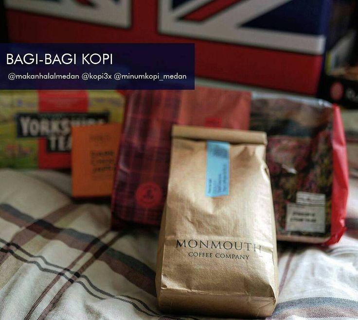 BAGI-BAGI KOPI. . . . Saatnya bagi-bagiiiii.. @makanhalalmedan - @kopi3x - @minumkopi_medan mau bagi-bagi sekantong kopi arabika 250 gram.  Kopinya adalah Finca Malacara A yang dihasilkan oleh petani Hermanos Alvarez El Salvador. Kopi ini disangrai oleh Monmouth Coffee London UK  10 Oktober 2017 (whole beans untuk seduh manual dengan filter). Caranya gampang aja kok. Tinggal melipir aja ke @makanhalalmedan ya... . 1. Follow @makanhalalmedan @kopi3x @minumkopi_medan 2. Love postingan doi 3…