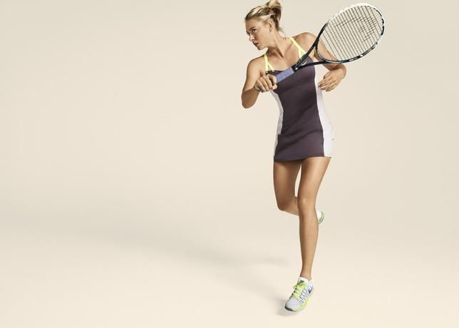 Платье для тенниса найк