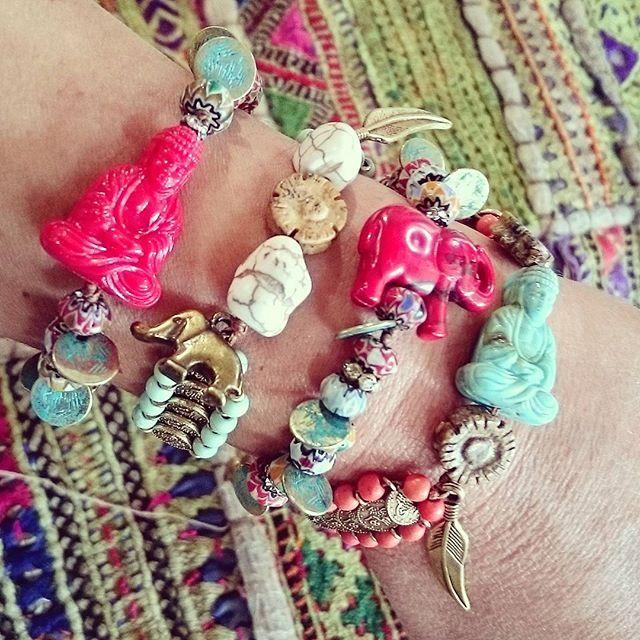 Frolic Stones...Boho bracelets, Bohemian jewelry