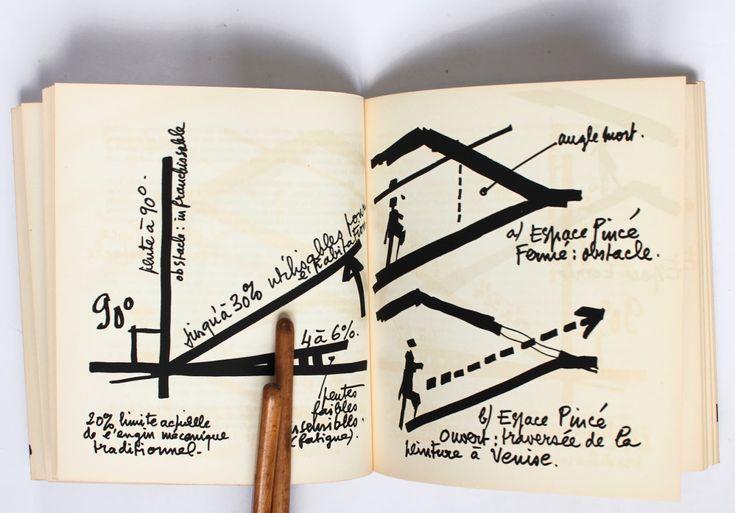 Exposition inaugurale de la galerie Archetype consacrée à Claude Parent en 1983.