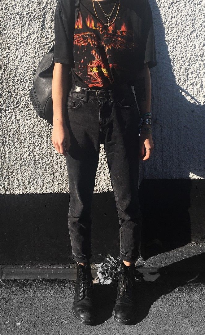 38 Street Style Grunge Looks to Wear Right Now
