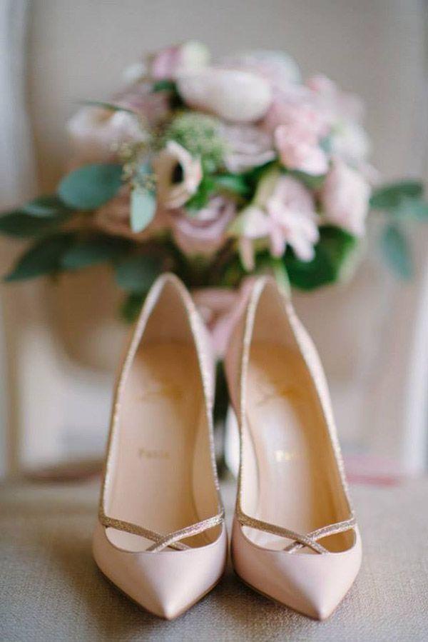 Zapatos de novia #bridalshoes #ChristianLoboutin #zapatos