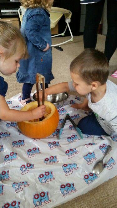 Good old fashioned pumpkin guts!  https://m.facebook.com/story.php?story_fbid=945762928852034&id=943741719054155