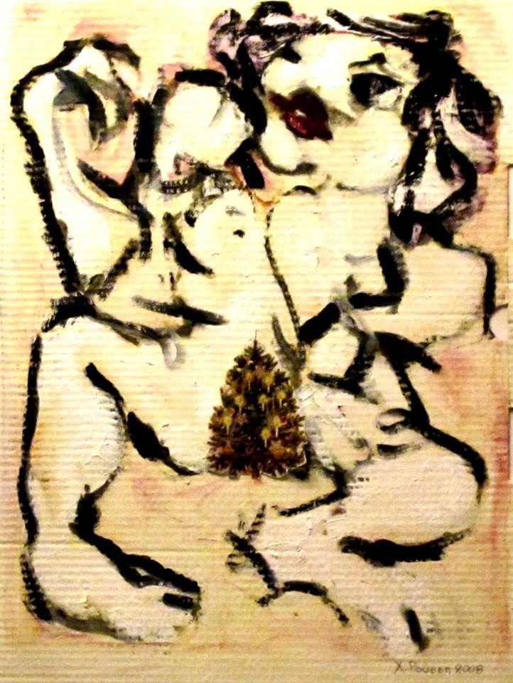 My friend's portrait by ChristinRoussi on deviantART