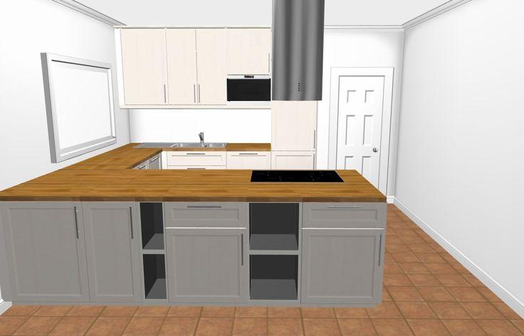 Bildergebnis für küche u-form mit insel | Küche | Pinterest | Search | {Küchen u form mit kochinsel 12}