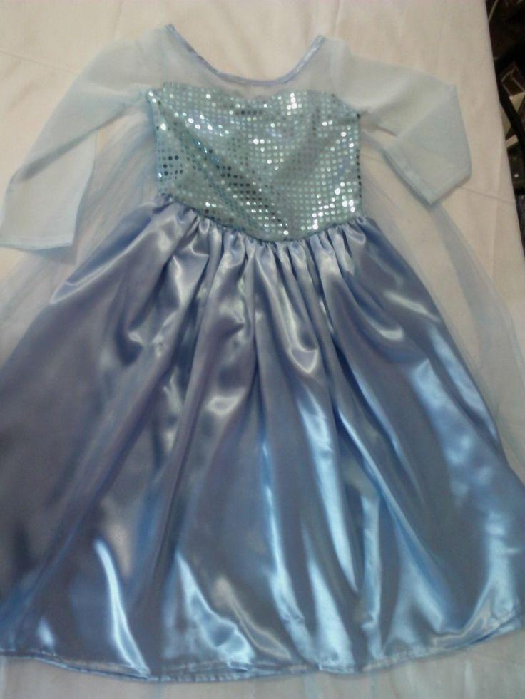 Disfraz De Elsa Anna De Frozen Hermosos!!! - $ 420,00 en MercadoLibre