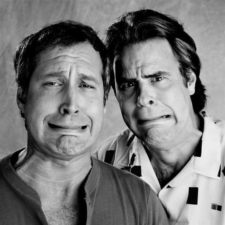 Chevy Chase and Dan Aykroyd. Photo by Bonnie Schiffman.