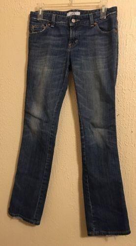 11.64$  Buy now - http://viubz.justgood.pw/vig/item.php?t=9e4cpq27122 - Women's Armani Exchange Boot Cut Jeans Size 4 Low Rise Medium Wash