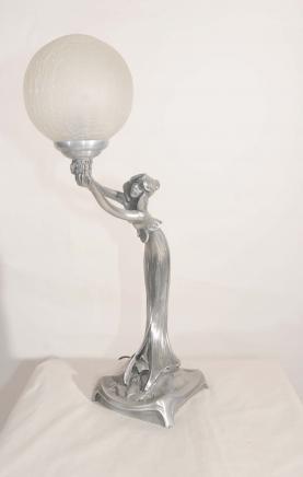 29 best images about vintage figural lamps on pinterest for Jugendstil lampen