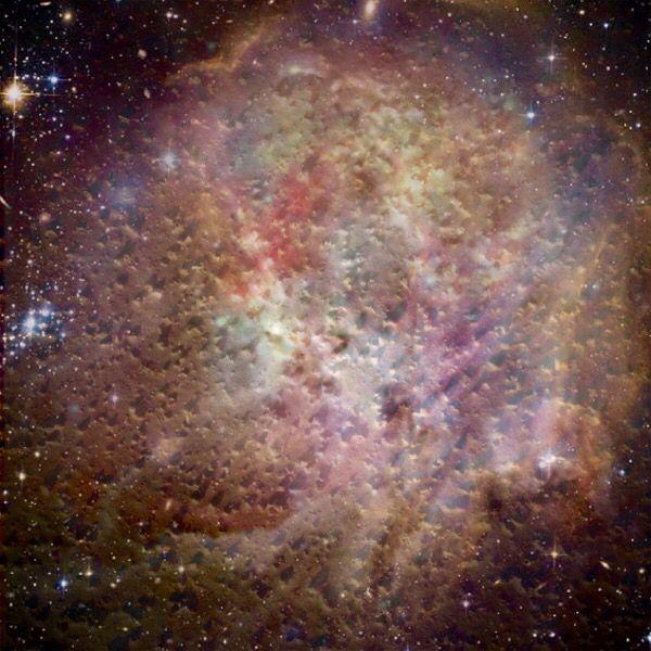 Galaxy ceiling down
