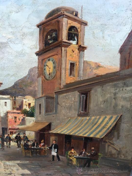 Vincenzo Canino (Italian, 1892-1978) - View of Capri (detail)