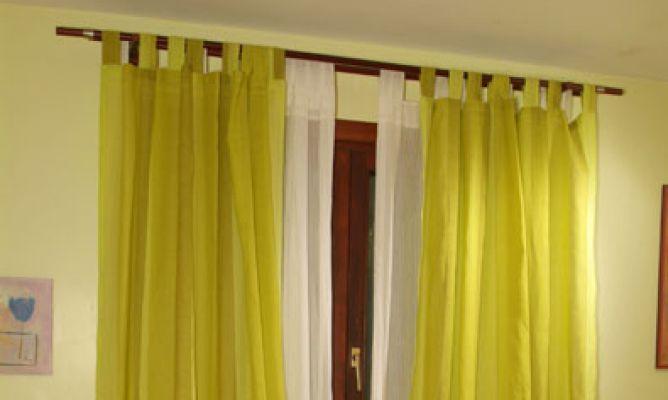 Colocar doble barra de cortina - Barras para colgar cortinas ...