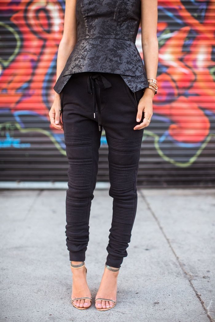 Polished Casual | Song of Style 3.1 Phillip Lim Track Pant