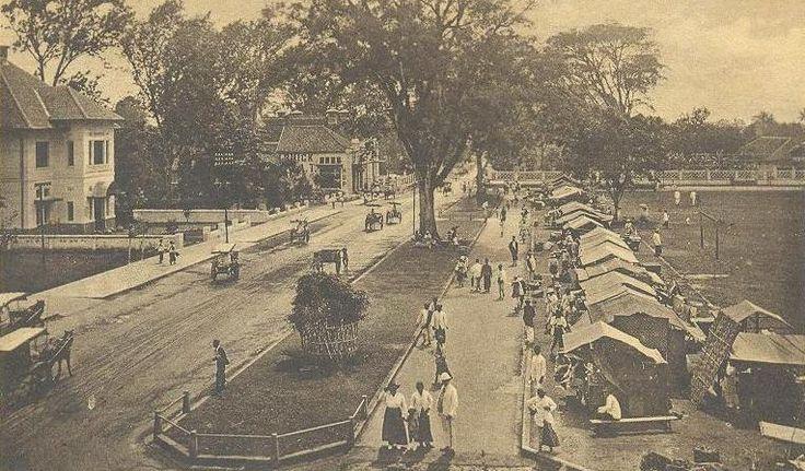 Alun alun bandung 1920