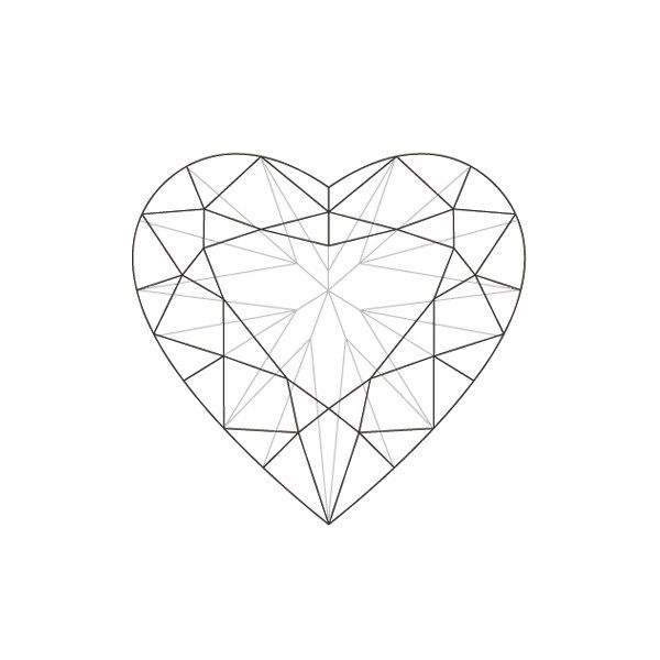 Crystal Diamond Engagement Rings