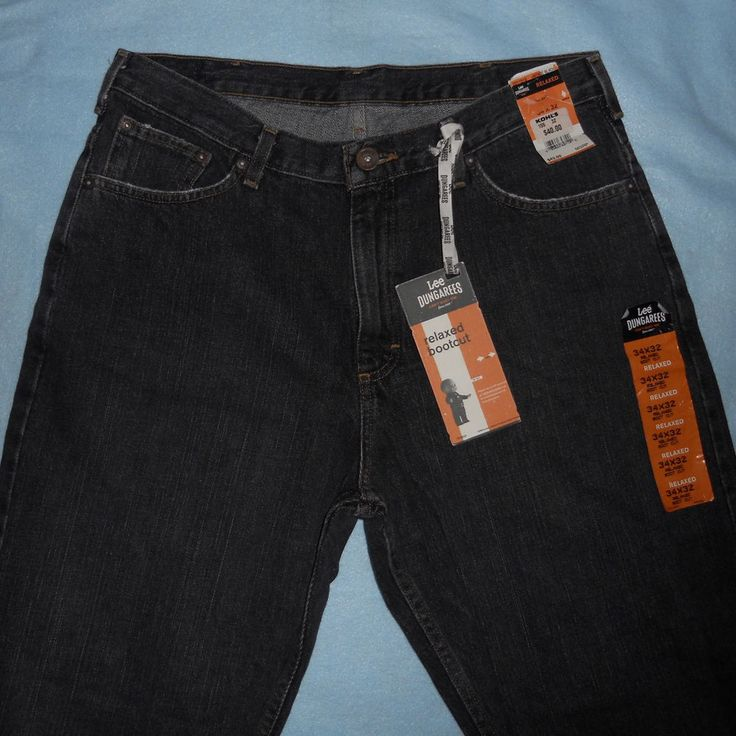 Lee dungaree bootcut jeans