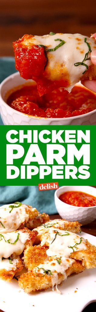 Chicken Parm Dippers | Your go-to Italian favorite is now a fun finger food.