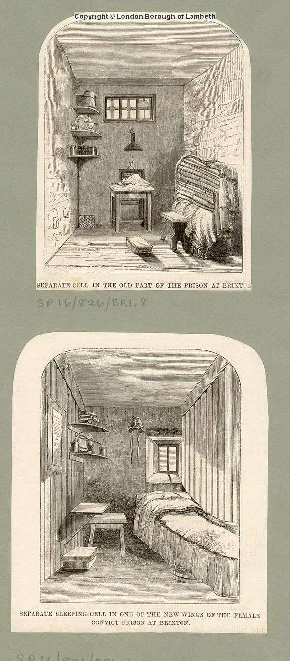 Brixton Prison, Brixton Hill 1850