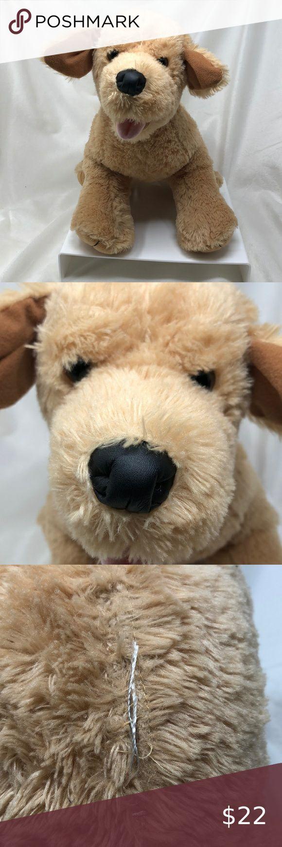 Babw Dog Yellow Lab Golden Retriever Plush Puppy Build A Bear Workshop Babw Yellow Lab Go Build A Bear Toy Plush Stuffed Animals Happy Birthday Teddy Bear [ 1740 x 580 Pixel ]