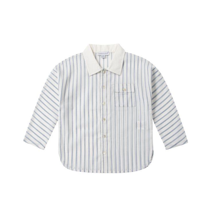 Stripe Button Shirt | Happyology Coast Collection SS16