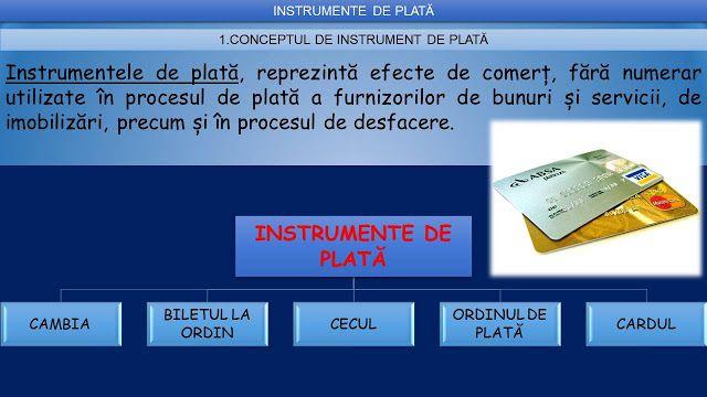 Profu`economist: MODALITATI DE PLATA