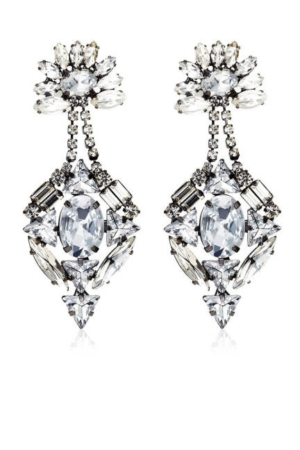Holiday Party Jewelry Shoes - Holiday Party Accessories - ELLE  Juicy Couture Gemstone Drama Earrings