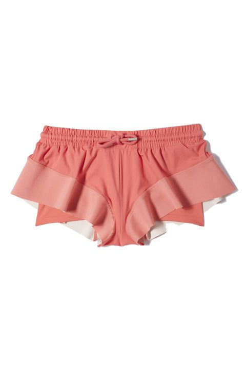 Adidas by Stella McCartney Barriacde Shorts, $42 - chic workout gear for the new year - Elle