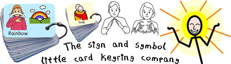 BSL sign keyrings for classmates?