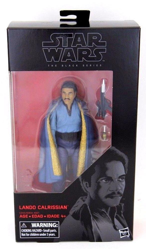 NEW LOW SHIPPING! Star Wars Black Series Lando Calrissian