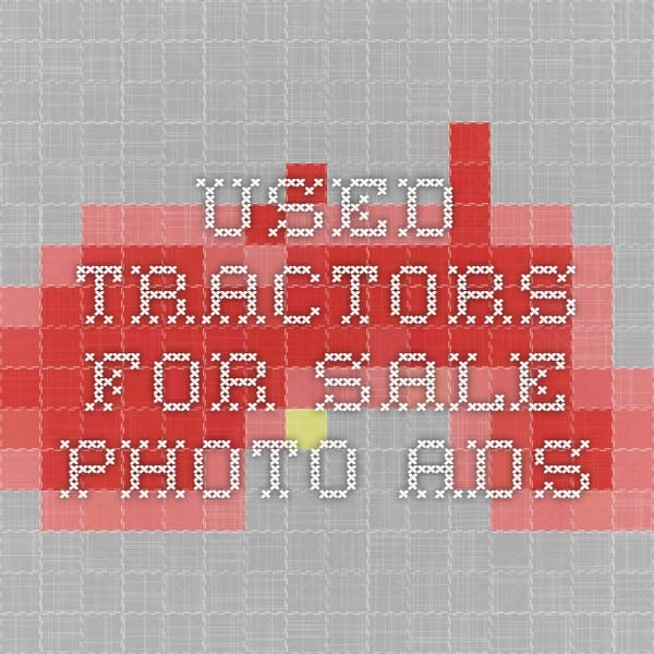 Used Tractors For Sale - Photo Ads