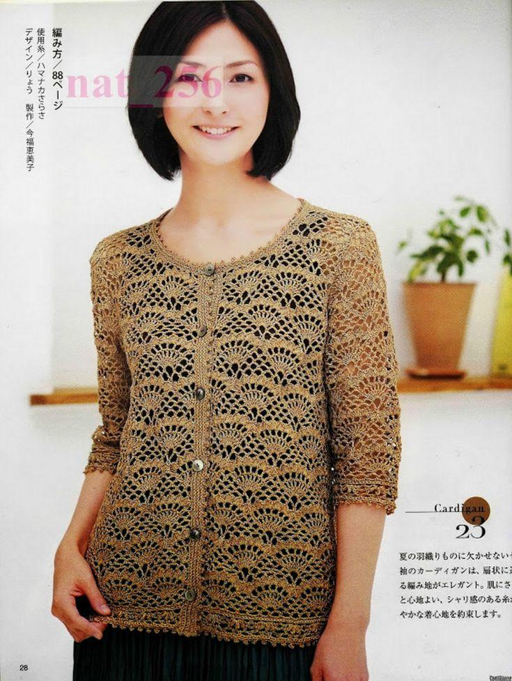 大人のニット№3357 2012 春夏 - 紫苏 - 紫苏的博客