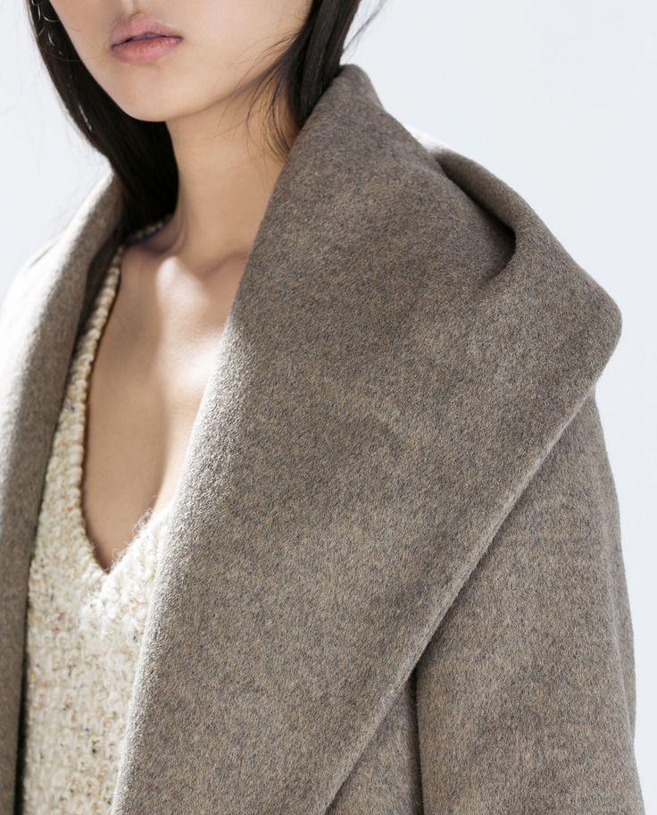 les 25 meilleures id es de la cat gorie manteau femme zara sur pinterest la redoute manteau. Black Bedroom Furniture Sets. Home Design Ideas