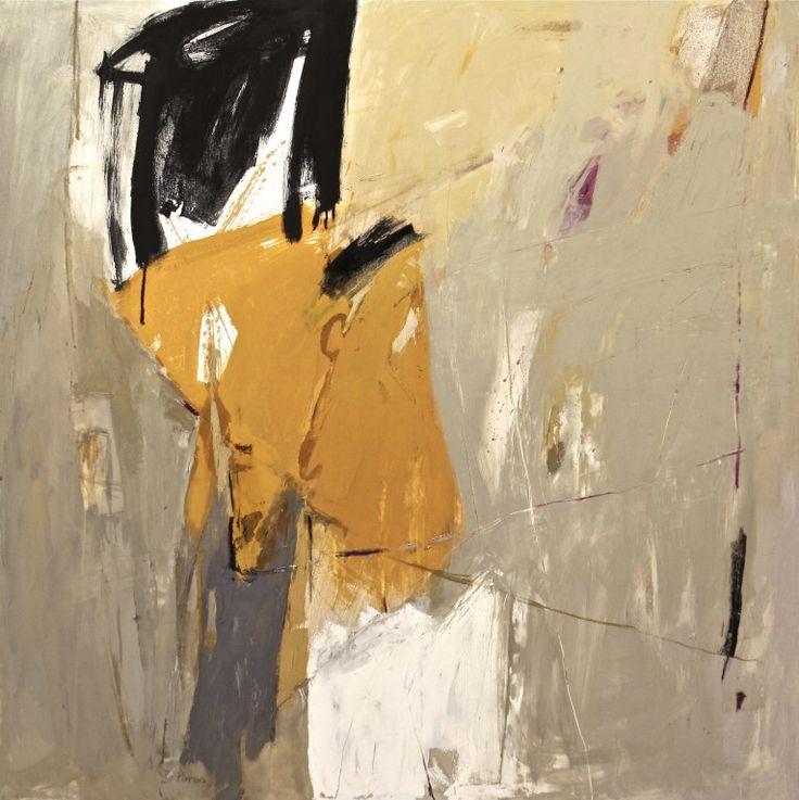 Tracce - 2012 - olio su tela - cm 120 x 120