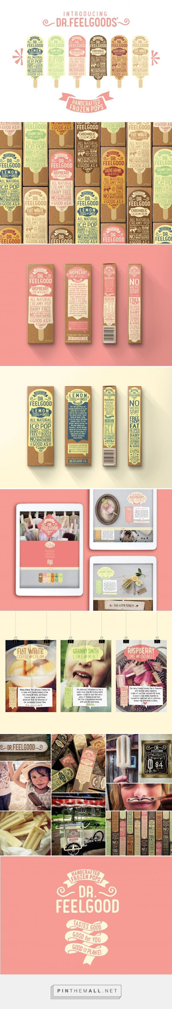 Dr.Feelgood Frozen Pops Packaging and Branding by Brandwagon | Fivestar Branding Agency – Design and Branding Agency & Curated Inspiration Gallery